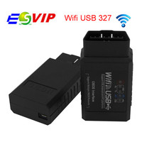 20pcs/Diagnostic Tool ELM327 Wifi USB Auto Code Scanner Supports Android IOS PC best price