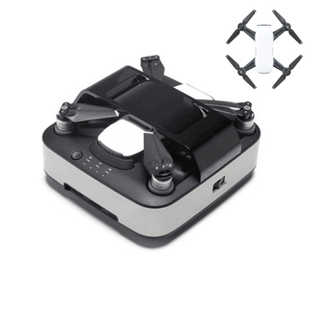 5000mAh Safe Intelligence Efficient Portable Charging Station For DJI Spark Battery Charger Box Case Bag aircraft with bag dji spark drone 3 in 1 car charger battery charging