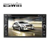 2Din Carro DVD Player Multimedya Eswin Fit Toyota Universal Direção-Roda de Navegação do GPS do Android Com Câmera MP3 Do Bluetooth OBD2