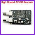 2pcs/lot High Speed AD/DA Module Matching FPGA Black Gold Development Board