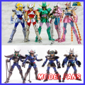 MODEL FANS CS speeding/king model Saint Seiya Andromeda/dragon/Pegasus Anime and black TV Version1 Helmet Cloth Myth Metal armor