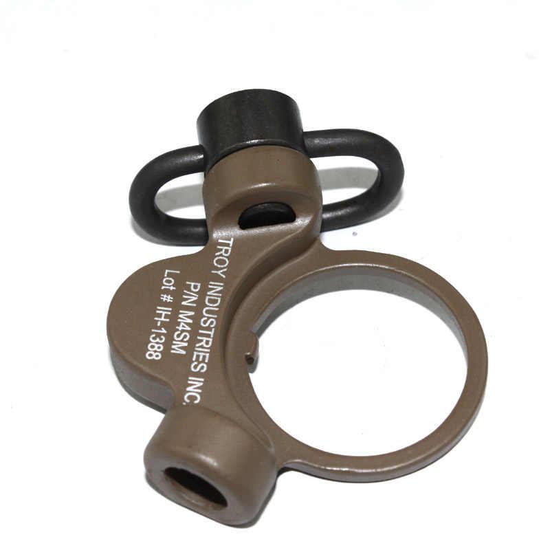 トロイデュアルサイドqdスリングスイベルマウント用エアガンM4 M16 gbb送料無料