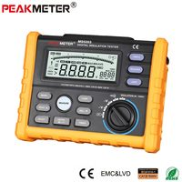 OFFCIAL PEAKMETER Analog and Digital 1000V MS5203 Insulation Resistance Tester megger meter 0.01~10G Ohm with Multimeter