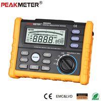 OFFCIAL PEAKMETER Analog and Digital 1000V MS5203 Insulation Resistance Tester megger meter 0.01~10G Ohm with Multimeter