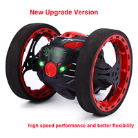 Mini Bounce Car SJ80 RC Cars 4CH 2 4GHz Jumping Sumo RC Car With Flexible Wheels