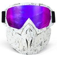 Unisex HD Lenses Windproof Motorcycle Goggles Bicycle Glasses Men Women Outdoor Dustproof Anti fog Skiing Snowboard Mask
