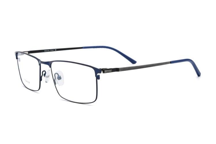 7d0587ce9d5 Titanium Alloy Screwless Eyewear Korean Glasses Frame Men Rimless Prescription  Eyeglasses Myopia Optical Frame Oculos De
