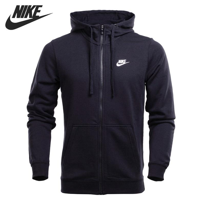 Original New Arrival 2018 NIKE NSW HOODIE FZ FT CLUB Men's Jacket Hooded Sportswear