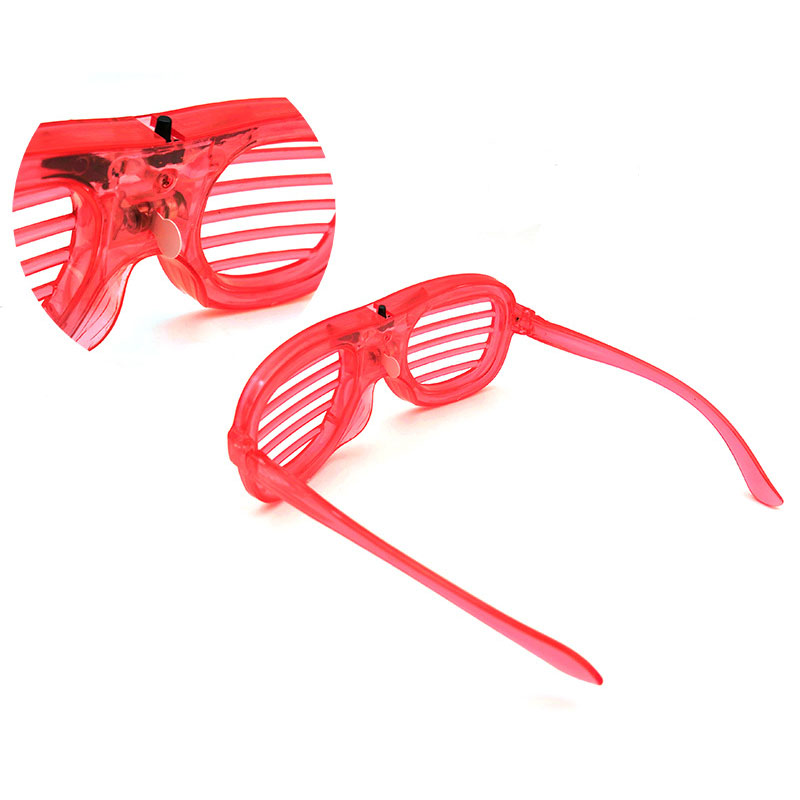 Shutter Glasses With LED Luminous Lighting For Birthday And Night Party 3