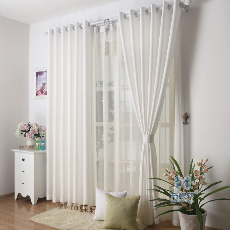 Nice Cloth Or See Through Tulle For Curtain Simplicity Elegance Embroidered  Honorable Design Fashion Living Room Window Curtains In Curtains From Home  ...