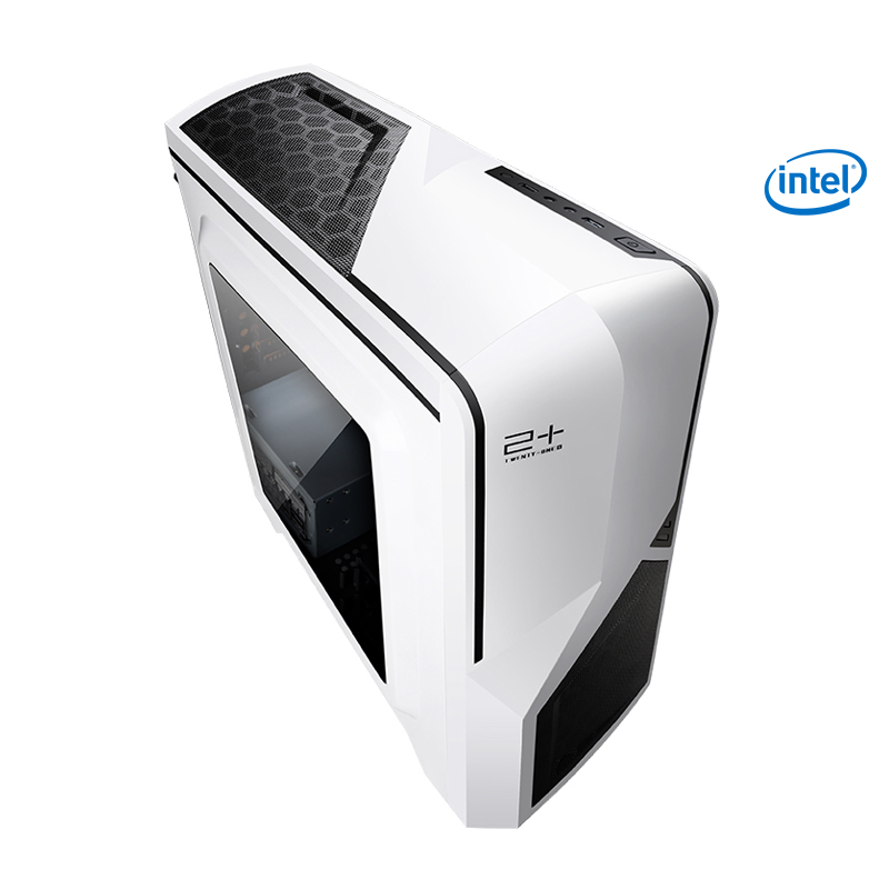 Getworth Intel i5 8400 2.8GHz Office Desk Home Integrated Graphics Card 120GB SSD 8GB RAM Computer PC Home Dedesktop White S101