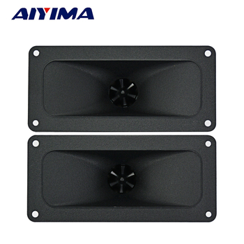 Aiyima 2PC Tweeters 146*67MM Piezoelectric Tweeter Loudspeaker 150W Ceramic Buzzer Treble Square Audio Speaker