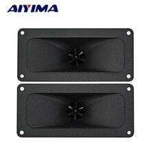 AIYIMA 2 sztuk tweetery 146*67MM piezoelektryczny głośnik wysokotonowy 150W ceramiczny Buzzer Treble Square głośnik audio