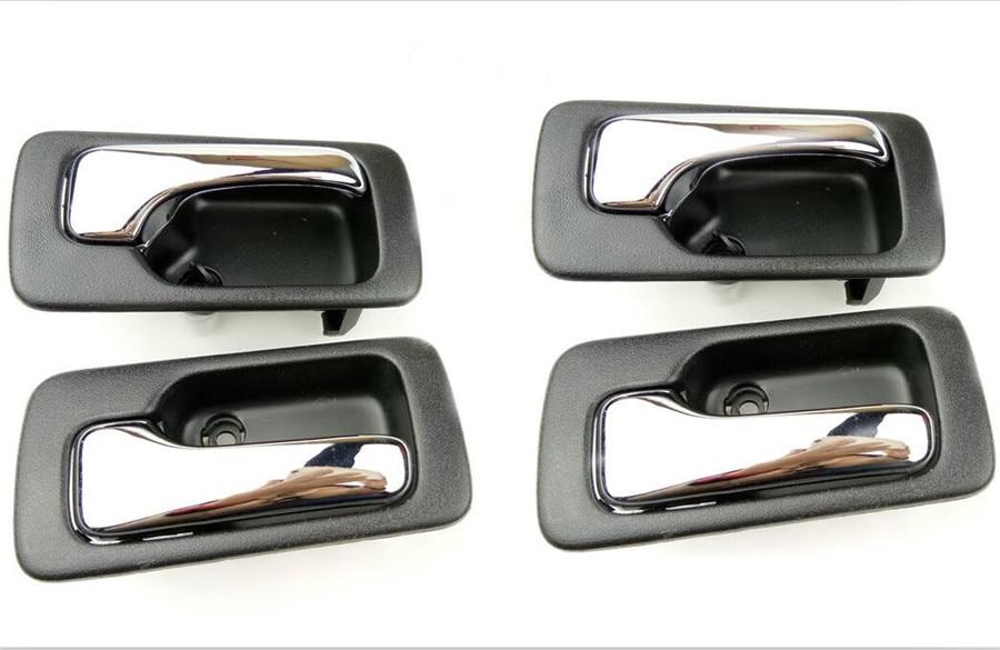 EEN SET/4 STUKS Binnen Deur Handvat voor 1990 1992 1993 Honda NR 4 Accord Binnen Handvat Auto Deur handvat binnenkant deurknop