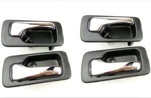 Image 1 - Manija interior de la puerta del coche, manija interior para Honda n. ° 4, 1990, 1992, 1993, Accord, manija de la puerta de interior, perilla de Puerta de interior, 4 Uds.