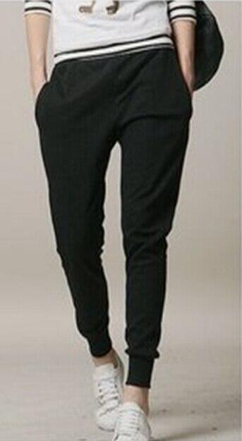 Свободные Чиппинг повседневные брюки мужские модные Чистый хлопок досуг девять sub брюки/27-31