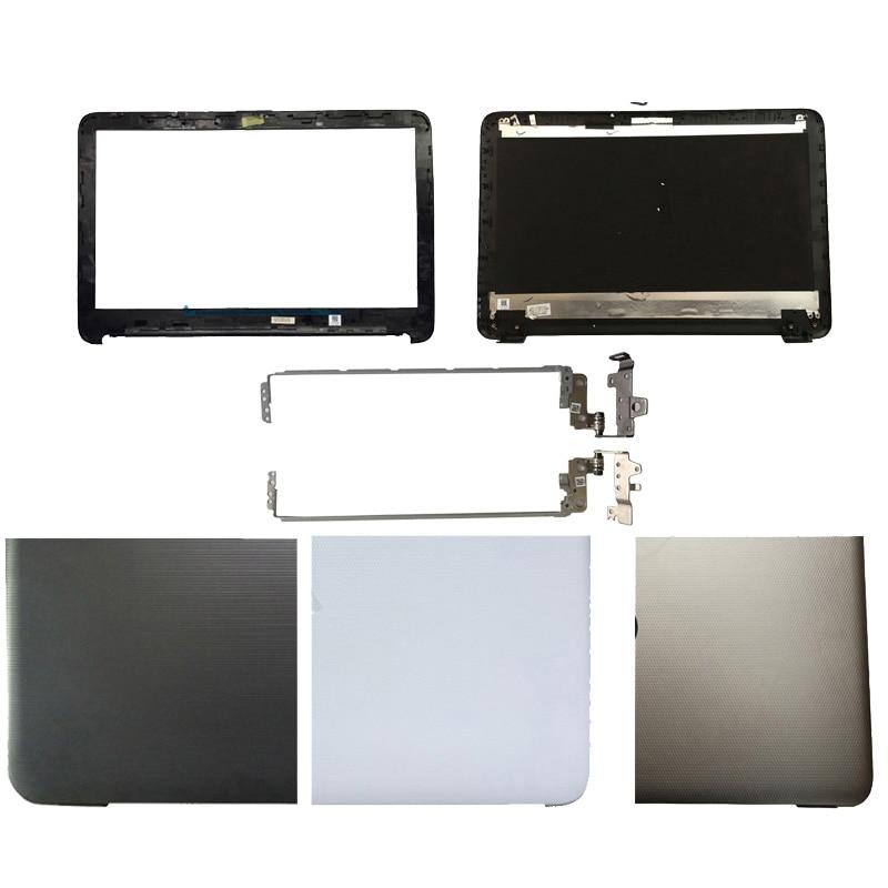 Nova tampa do portátil Para HP 15-A 15-AC 15-AF 250 255 256 G4 15-AC121DX LCD Back Cover/LCD painel frontal/Dobradiças 813925-001