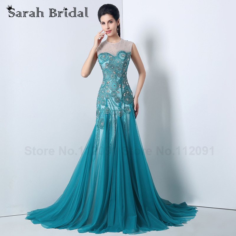 Online Buy Wholesale peacock prom dresses from China peacock prom ...