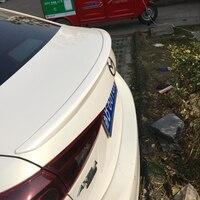 For Mazda 3 Axela ABS Primer Car Rear Lip Spoiler Wing for Mazda3 2014 2016