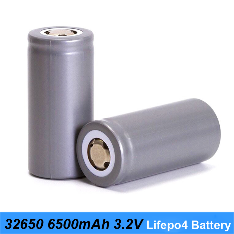 Turmera charger 32650 lifepo4 battery 3.2v 6500mah 33A 55A discharge current for e-bike battery pack and solar street light