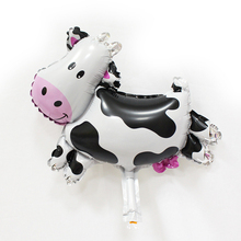 Black White Cow Birthday Balloons ChildrenS Party Ballon Helium Decorate Or For Home