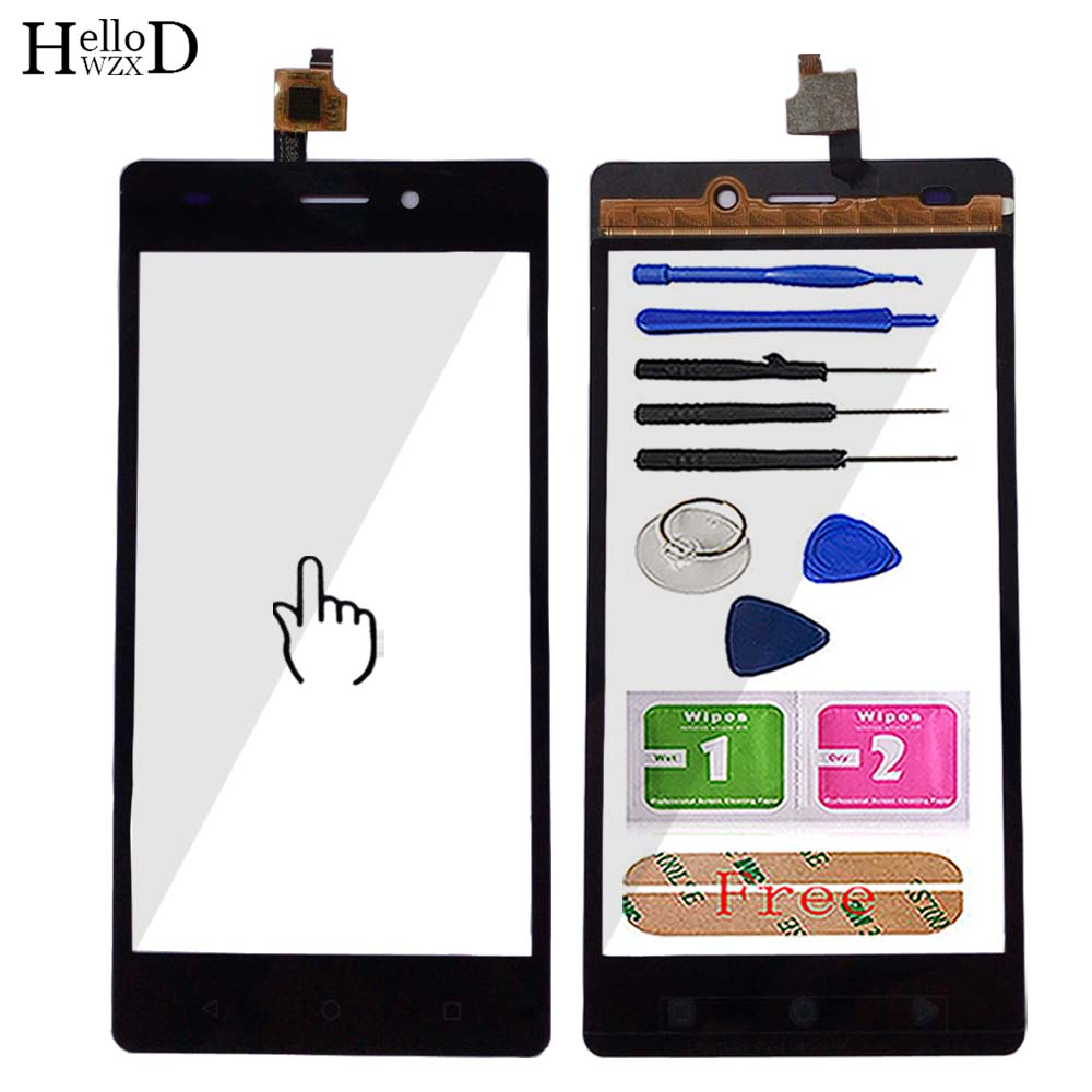 5'' Mobile Touch Screen Glass For Beeline Fast 2 Fast2 Touch Screen Digitizer Panel Front Glass Lens Sensor Tools Adhesive