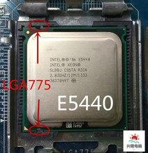 مقبس 775 Xeon E5440 e5440 رباعي النواة 2.83GHz 12MB 1333MHz لا حاجة لمحول يمكن أن يعمل على اللوحة الرئيسية LGA 775