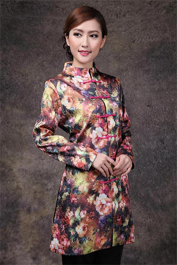 Envío libre chaqueta de primavera de las nuevas mujeres chinas clothing señoras