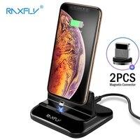 Raxfly 電話充電器 iphone xs 最大 xr 充電 iphone × 8 7 6 6 s プラススタンドホルダーアップルの充電器ドックデスクトップ
