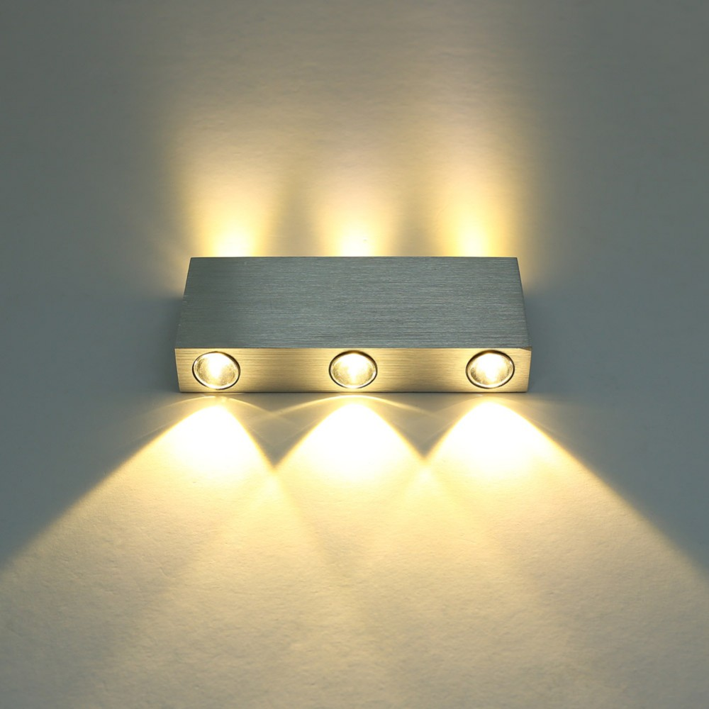 4w 6w led modern lamp wall sconce fixture hallway stair light bedside lighting light fixture cafe cheap lighting fixtures