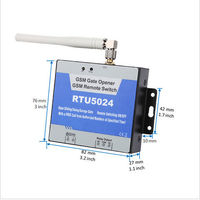GSM Garage Gate Opener RTU5024 Authorized 200 Users Multiple Applications Bollards Barriers Shutters Access Doors Or