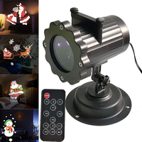 2018 New Dynamic Animation Projector Lights 4 Pattern Led Garden Light Waterproof Christmas Projection Lamp For Wedding Decor