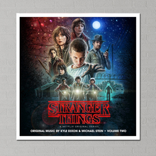 stranger things 2 Canvas Poster Painting Photo Your Name Posters Paintings on The Wall Pictures for Living Room Plakat 02