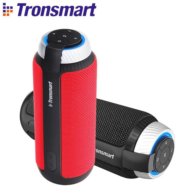 Tronsmart elemento t6 bluetooth 4.1 alto falante portátil sem fio soundbar receptor de áudio mini alto falantes usb aux para música mp3 player