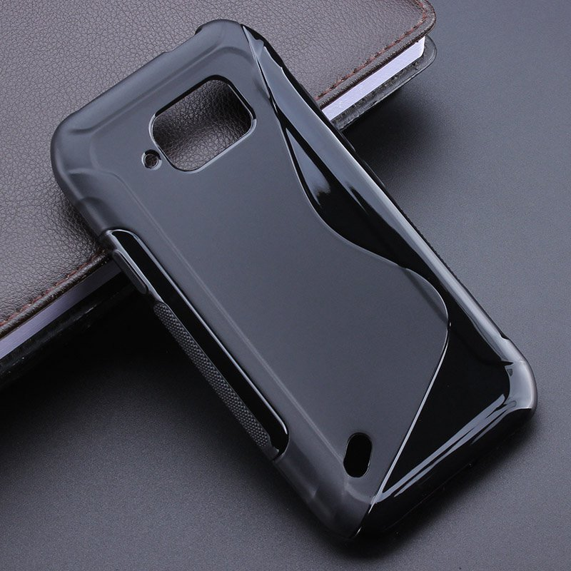 2 Color S line Anti Skidding Gel TPU Soft Case Back Cover For Samsung Galaxy S6 Active G890 Mobile Phone Rubber silicone Bag