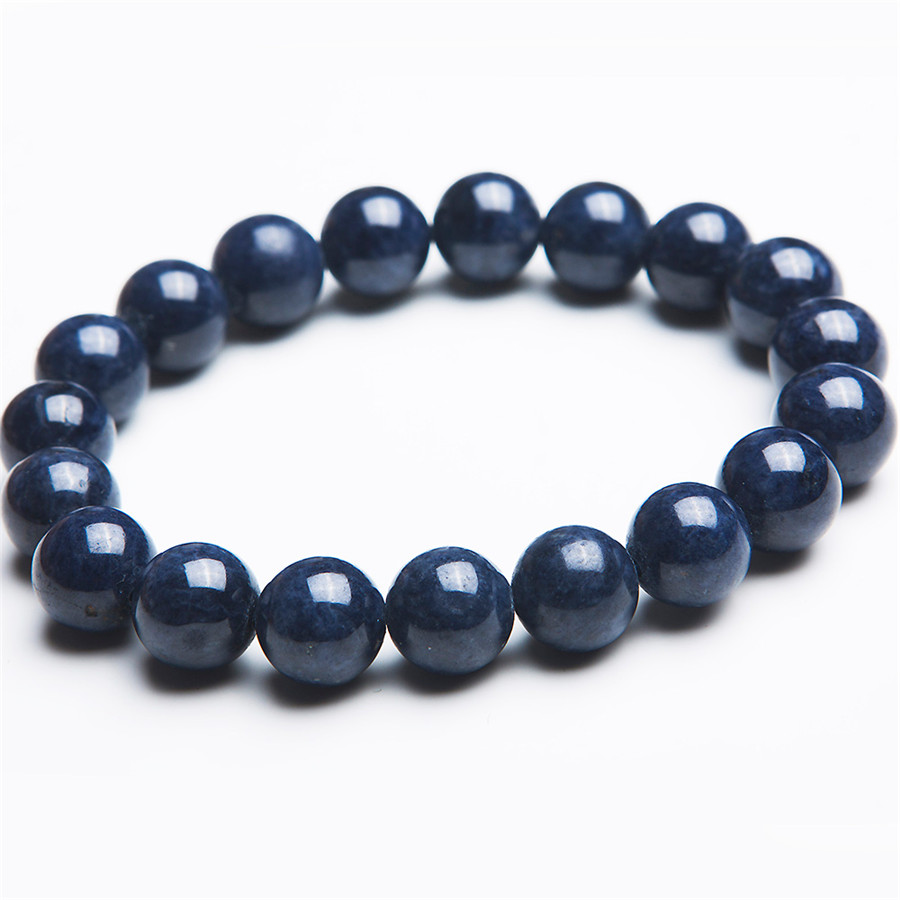 2017 New Women And Mens 10mm Round Loose Beads Fashion Jewelry Genuine Blue Gems Natural Stone Bracelet2017 New Women And Mens 10mm Round Loose Beads Fashion Jewelry Genuine Blue Gems Natural Stone Bracelet