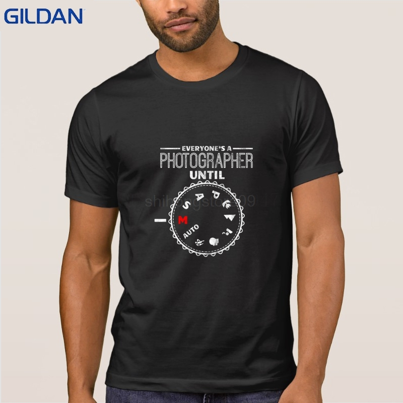 Photorapher Until   Shirt   For Photographer Gift   T     Shirt   Unique Mens   T  -  Shirt   Spring Autumn Newest Fitted Tshirt Man 100% Cotton