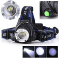 2000Lm CREE XM-L XML T6 LED Waterproof Head Light Lamp Zoomable Headlamp Headlight 3 Mode Lamp 18650 battery
