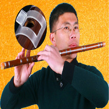 Very good Bamboo flute with Whistle easy to play C D E F G K
