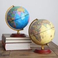 Household Decor Plastic Terrestrial Globe World Globe Fashion Office Desktop Decor Cerafts Gift For Free Shipping