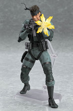 METAL GEAR SOLID 2: SONS OF LIBERTY Figma 243 Snake PVC Action Figure Collectible Model Toy 15cm