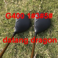 OEM quality datang dragon golf driver G400 driver 3#5# fairway woods with stiff flex headcover/wrench 3pcs golf clubs