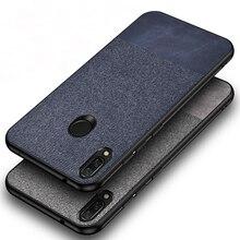 Luxury Ultra-thin Cotton Cloth Cases For Xiaomi Redmi Note 7