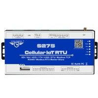 3g Modbus RTU мастер и раб IOT устройства сбора данных поддерживает удаленно перезапуска 64 продлить I/O теги 64 бит KingPigeon S275