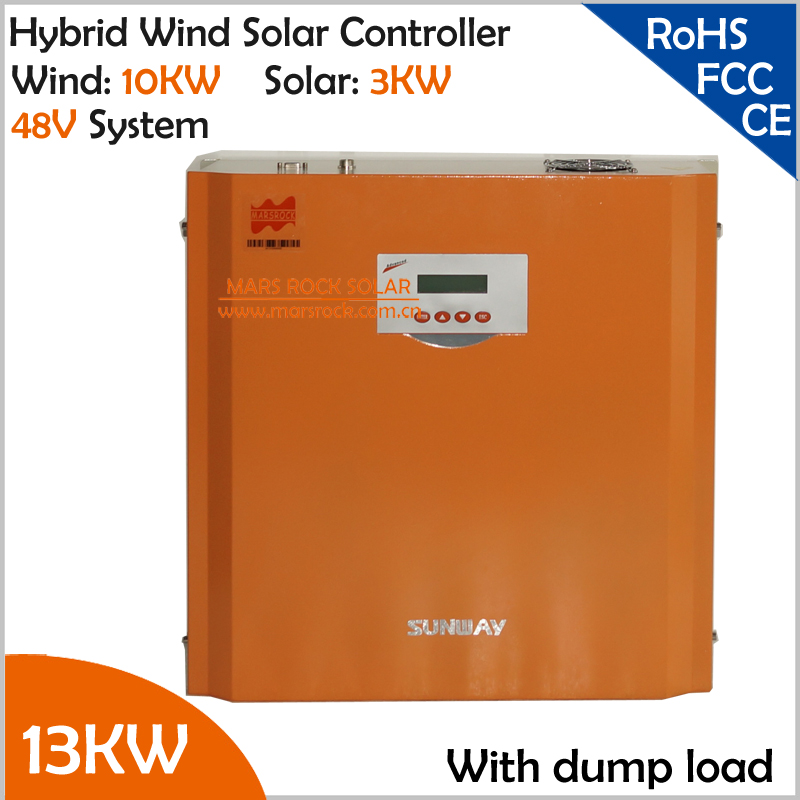 96V/120V/240V/360V 13KW Hybrid Charge Controller with LCD Display, 10KW Wind Power,3KW Solar Power glukhar v