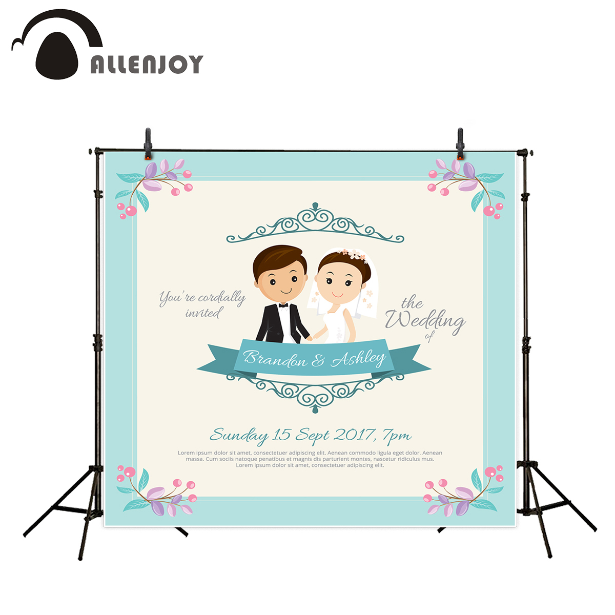 Allenjoy backgrounds for photo wood wedding love pure customized backdrop for photographing Valentine's Day backdrops