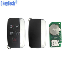 OkeyTech Auto Replacement Remote Key 433/434Mhz Smart Car Key Fob for Land Rover Range Rover Sport Evogue LR4 Luxury 2010-2015