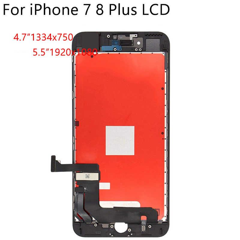 100% คุณภาพเดิมสำหรับ iPhone 6S 7 8 Plus จอแสดงผล LCD หน้าจอสัมผัส AAAA Digitizer Assembly ไม่มี dead Pixel