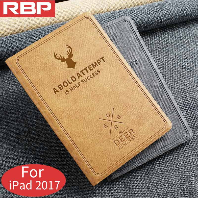 RBP for iPad 2017 case All-inclusive ultra-thin retro protective cover for iPad 9.7 2017 protective cover for iPad 2017 cover all inclusive