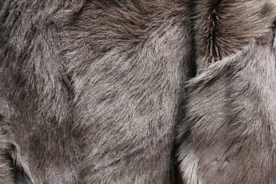 100% genuine sheepskin leather with fur coat slim with fox fur collar (10)